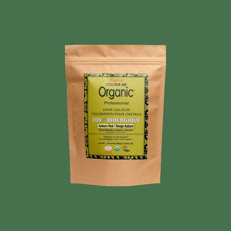 Coloration végétale Bio Rouge Auburn 5x500g | RADICO