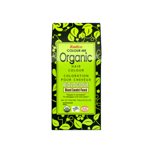Coloration végétale bio Blond Cendré Foncé 100g | RADICO