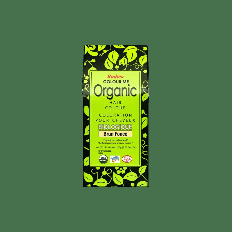 Coloration végétale bio Brun Foncé 100g | RADICO