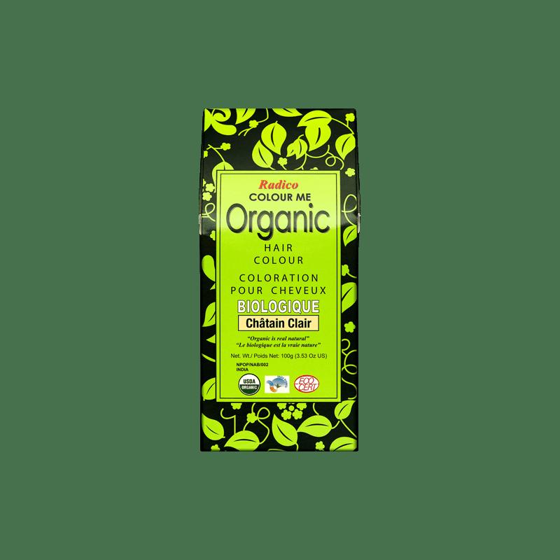 Coloration végétale bio Châtain Clair 100g | RADICO