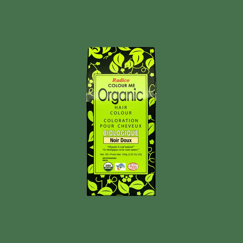 Coloration végétale bio Noir Doux 100g | RADICO