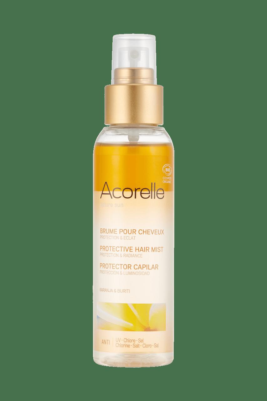 Brume bio pour cheveux protection coloration végétale